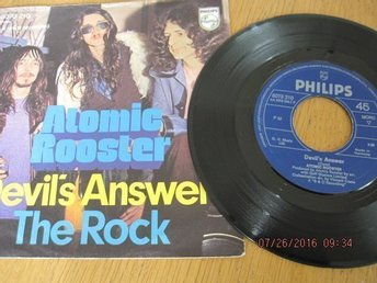 "Atomic Rooster 7"": Devil's Answer/The Rock"