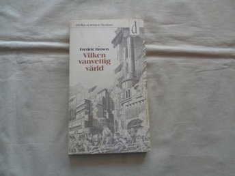 Fredric Brown  Vilken vanvettig värld  Delts SF nr 20  1975