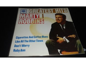 "EP.MARTY ROBBINS Greatest Hits.""*Cigarettes And Coffee Blues* EP."