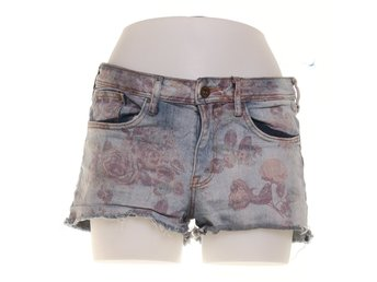 &Denim by H&M, Shorts, Strl: 38, Grå/Rosa/Blå