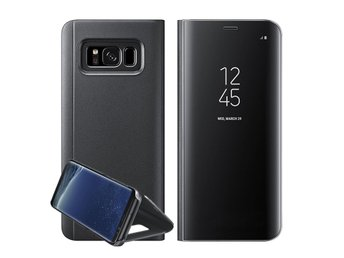 Samsung Galaxy Note 8 Smart View Mirror Flip Stand Case Cover