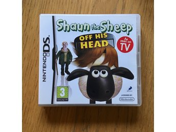 Shaun the sheep - Off his head, Nintendo DS. Mycket fint skick!