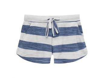 Dee Shorts Wht/Blue Stripes - 8Y (Rek pris: 299kr)