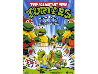 Teenage Mutant Hero Turtles 3 - Punkgrodorna Anfaller - DVD