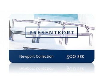 presentkort/ värdebevis Newport Collection