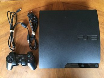 Playstation 3 Slim 320gb - PS3 / EA spel