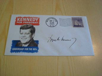 John F. Kennedy for President JFK USA kuvert