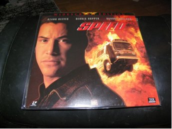 Speed - THX - Special Widescreen edition 1st  Laserdisc
