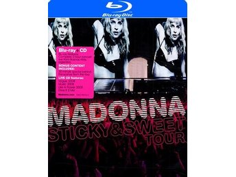Madonna: The Sticky & Sweet tour (Blu-ray + CD)