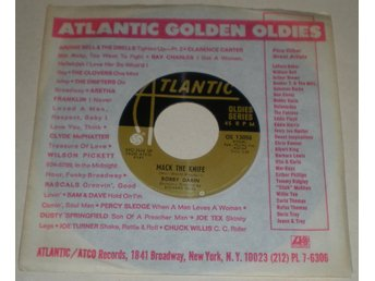Bobby Darin 45a Mack the knife / Beyond the sea