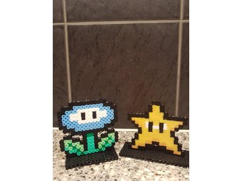 Super mario flower & star