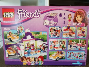 Nytt Oöppnat LEGO Friends 41320 Heartlake Frozen Yogurt Shop