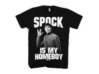 Star Trek T-shirt Spock Is My Homeboy S