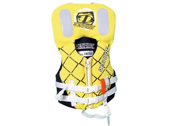 Jetpilot Life Vest Infant Nylon 100N Yellow 0-15kg (FLYTVÄST)