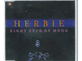 HERBIE - RIGHT TYPE OF MOOD   ( CD MAXI/SINGLE )