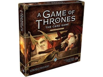 A Game of Thrones: The Card Game 2nd Ed - Kortspel