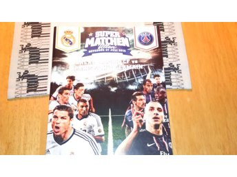 Supermatchen Real Madrid CF - Paris Saint - Germain