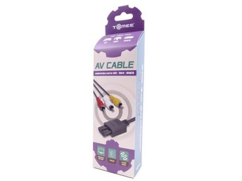 AV Cable for GC, N64 And SNES (Tomee) -  - PAL (EU)