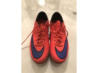Fotbollsskor Mercurial Nike Orange
