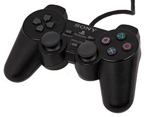 Sony DualShock - Black - Playstation