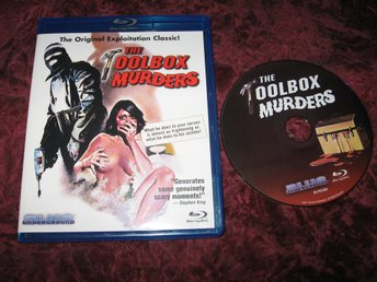 THE TOOLBOX MURDERS (CAMERON MITCHELL,PAMELYN FERDIN) BLU-RAY