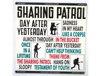 Sharing Patrol - Day after Yesterday 1986 Soundof Music 104