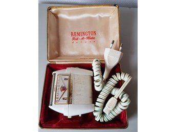 Remington rakapparat. Roll-A-Matic de luxe. Retro. Kuriosa.