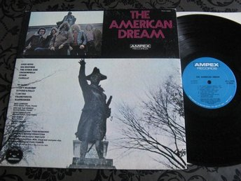American Dream. Ampex 1970 US Psych. Top opening omslag.