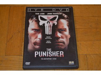 The Punisher ( John Travolta Tom Jane ) DVD