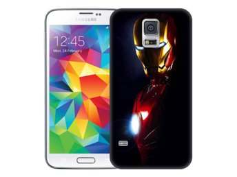 Samsung Galaxy S5 Skal Glowing Iron Man