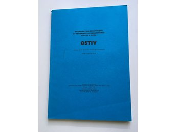 OSTIV Publication XVII (Hobbs/New Mexico, USA, 1983)