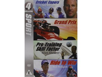 Cricket Capers / Grand Prix / Pro Training Skill Factor / Ride To- DVD Inplastad