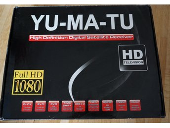 Yu-Ma-Tu Full HD Hight definition Digital receiver Ny i kartong