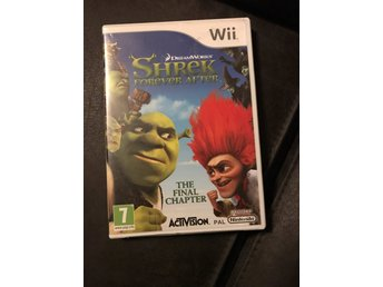 Shrek Forever After Wii komplett