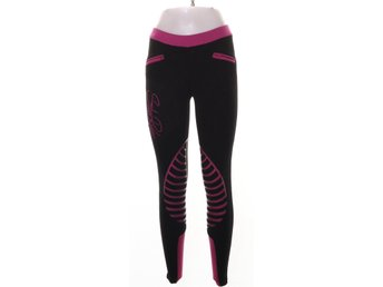 Star rider, Leggings, Strl: 34, Svart/Rosa