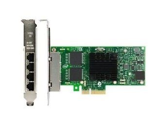 Intel I350-T4 PCI-Express PCI-E Four RJ45 Gigabit Ports Server Adapter NIC