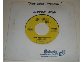 Little Eva 45a Locomotion / He is the boy