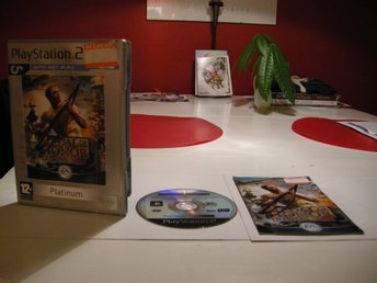Medal of honor Rising sun Playstation 2 PS2 Platinum EA Games