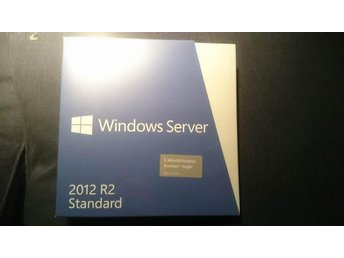 Windows server 2012 R2 standard (5 klientåtkomstlicenser ingår)