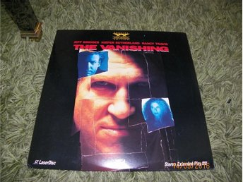 The vanishing - Widescreen edition 1st laserdisc