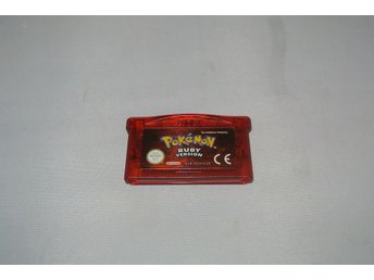 Pokemon Ruby Version till Game Boy Advance