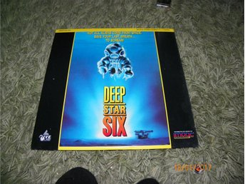 Deep star six - 1st Laserdisc - Forshaga - Deep star six - 1st Laserdisc - Forshaga