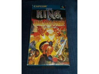 The King of Dragons - RARE & EFTERTRAKTAD - KOMPLETT - CIB - SNES - JAP