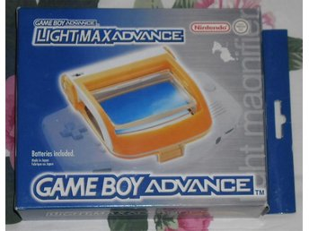 GBA Gameboy Game Boy Advance: Light Max Advance