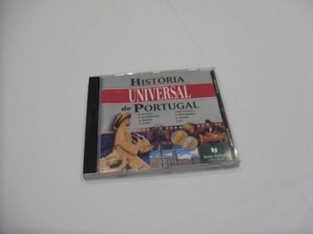 Historia de Portugal Multimedia program Vintage CD ROM PC Windows