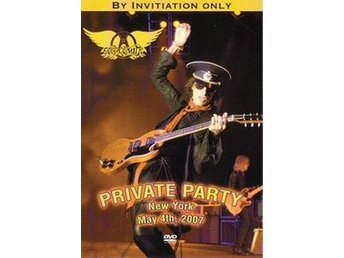 Aerosmith -Private party 2007 dvd Robin Hood foundation N.Y.