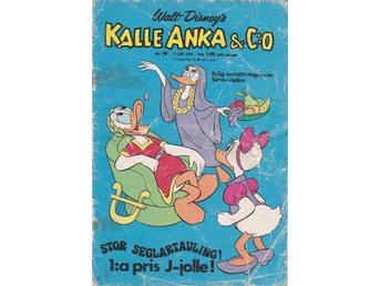 Kalle Anka & Co nr 28 -73. GD