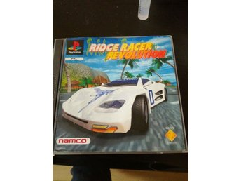 Ridge racer revolution. Fungerande ps1 spel
