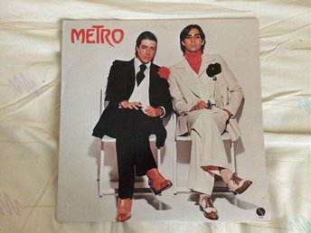 METRO(DUNCAN BROWN & PETER GODWIN)  SIRE LP SR 6041 P.1976 P.1977 USA PRESS