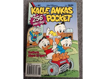 Kalle Ankas pocket nr 167